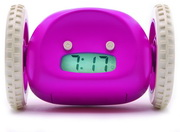 Clocky the Running Away Alarm Clock in Pink Color by Nanda Home - UBC6404