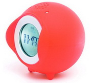 Tocky Red MP3 Voice Recording Alarm Clock by Nanda Home - UBC6330